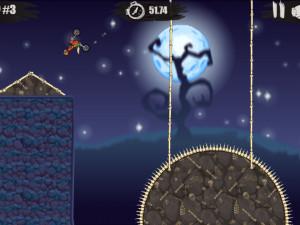 Онлайн игра Мото Х3М: Хэллоуин (Moto X3M: Spooky Land) (изображение №4)