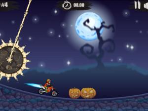 Онлайн игра Мото Х3М: Хэллоуин (Moto X3M: Spooky Land) (изображение №2)