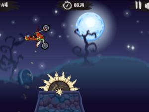 Онлайн игра Мото Х3М: Хэллоуин (Moto X3M: Spooky Land) (изображение №14)