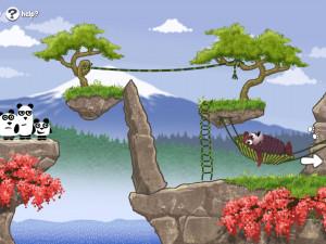 Онлайн игра 3 Панды в Японии (3 Pandas in Japan) (изображение №9)