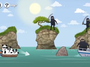 Онлайн игра 3 Панды в Японии (3 Pandas in Japan) (изображение №5)