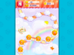 Онлайн игра Конфетный Дождь 2 (Candy Rain 2) (изображение №6)