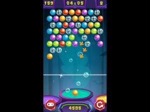 Онлайн игра Стрельба по шарикам: Хэллоуин (Bubble Shooter: Halloween) (изображение №9)