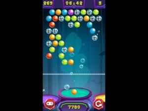 Онлайн игра Стрельба по шарикам: Хэллоуин (Bubble Shooter: Halloween) (изображение №6)