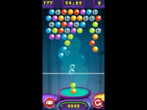 Онлайн игра Стрельба по шарикам: Хэллоуин (Bubble Shooter: Halloween) (изображение №4)