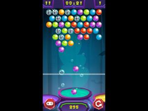Онлайн игра Стрельба по шарикам: Хэллоуин (Bubble Shooter: Halloween) (изображение №3)