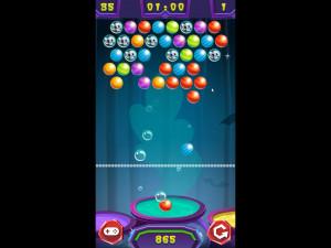 Онлайн игра Стрельба по шарикам: Хэллоуин (Bubble Shooter: Halloween) (изображение №2)