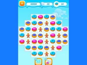 Онлайн игра Куки Краш: Три печенья в ряд (Cookie Crush) (изображение №2)