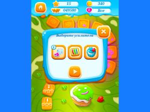 Онлайн игра Куки Краш: Три печенья в ряд (Cookie Crush) (изображение №5)