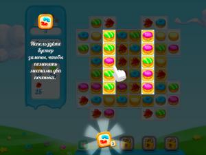 Онлайн игра Куки Краш 2 (Cookie Crush 2) (изображение №8)