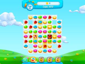 Онлайн игра Куки Краш 3 (Cookie Crush 3) (изображение №3)