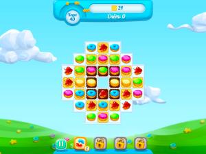 Онлайн игра Куки Краш 3 (Cookie Crush 3) (изображение №5)