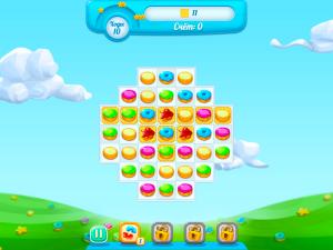 Онлайн игра Куки Краш 3 (Cookie Crush 3) (изображение №2)