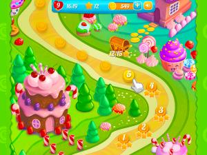 Онлайн игра Куки Краш 3 (Cookie Crush 3) (изображение №7)