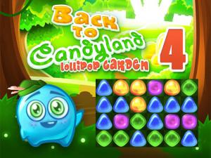 Онлайн игра Возвращение в Страну Конфет 4: Cад Леденцов (Back To Candyland 4: Lollipop Garden) (изображение №1)
