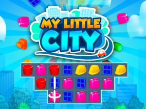 Онлайн игра Мой маленький город: Три в ряд (My Little City) (изображение №1)