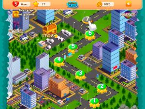 Онлайн игра Мой маленький город: Три в ряд (My Little City) (изображение №3)