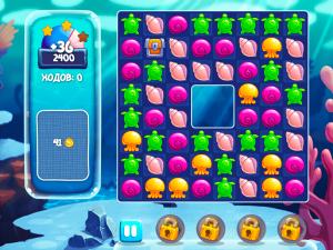 Онлайн игра Аква Блиц (Aquablitz) (изображение №3)