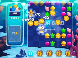 Онлайн игра Аква Блиц (Aquablitz) (изображение №7)