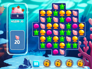 Онлайн игра Аква Блиц (Aquablitz) (изображение №2)