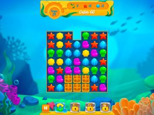 Онлайн игра Аква Блиц 2 (Aqua Blitz 2) (изображение №4)