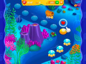 Онлайн игра Аква Блиц 2 (Aqua Blitz 2) (изображение №8)