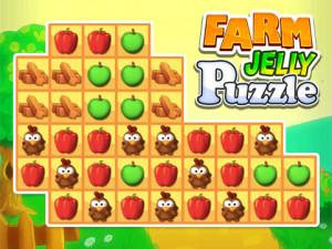Онлайн игра Ферма: Соединяй в цепочку (Farm Jelly Puzzle) (изображение №1)