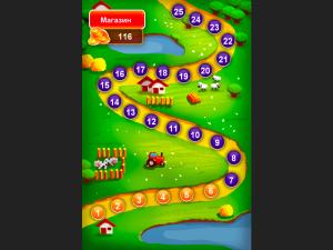 Онлайн игра Ферма: Соединяй в цепочку (Farm Jelly Puzzle) (изображение №7)