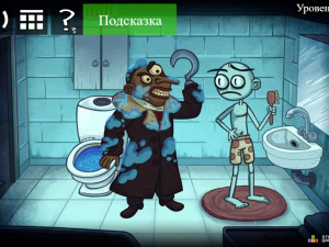Онлайн игра Trollface Quest: Horror 2 - Halloween (Троллфейс квест: Хоррор 2 - Хэллоуин) (изображение №2)