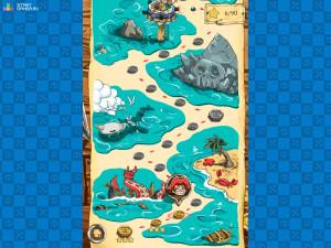 Онлайн игра Пираты Морских Пузырей (Sea Dubble Pirates) (изображение №5)