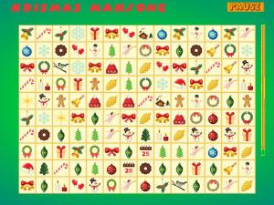 Онлайн игра Коннект: Рождественский Маджонг (Krismas Mahjong) (изображение №3)