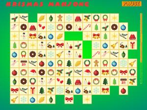 Онлайн игра Коннект: Рождественский Маджонг (Krismas Mahjong) (изображение №4)