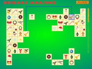 Онлайн игра Коннект: Рождественский Маджонг (Krismas Mahjong) (изображение №5)