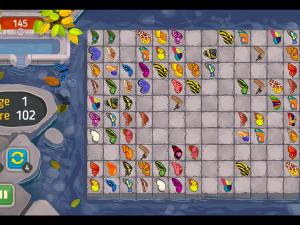 Онлайн игра Маджонг: Бабочка Куодай (Butterfly Kyodai HD) (изображение №2)