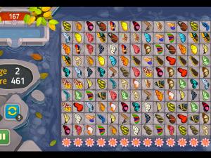 Онлайн игра Маджонг: Бабочка Куодай (Butterfly Kyodai HD) (изображение №5)