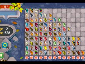 Онлайн игра Маджонг: Бабочка Куодай (Butterfly Kyodai HD) (изображение №6)