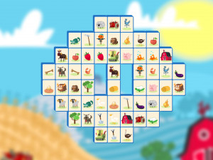 Онлайн игра Ферма: Маджонг Коннект (Farm Connect: Mahjong Connect) (изображение №5)