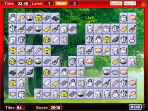 Онлайн игра Коннект 2: Кухонный инвентарь (Connect 2) (изображение №1)