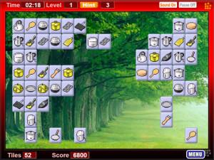 Онлайн игра Коннект 2: Кухонный инвентарь (Connect 2) (изображение №2)