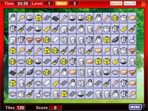 Онлайн игра Коннект 2: Кухонный инвентарь (Connect 2) (изображение №3)