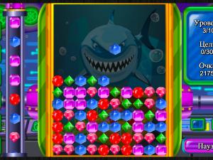 Онлайн игра Сокровища Глубокого Моря (Deep Sea Jewels) (изображение №3)