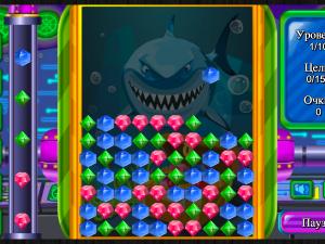 Онлайн игра Сокровища Глубокого Моря (Deep Sea Jewels) (изображение №2)
