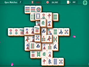 Онлайн игра Маджонг Пасьянс (Mahjongg Solitaire) (изображение №5)