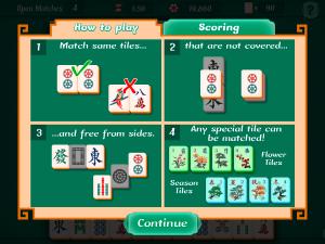 Онлайн игра Маджонг Пасьянс (Mahjongg Solitaire) (изображение №4)