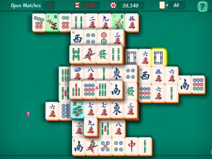 Онлайн игра Маджонг Пасьянс (Mahjongg Solitaire) (изображение №6)