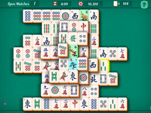 Онлайн игра Маджонг Пасьянс (Mahjongg Solitaire) (изображение №3)