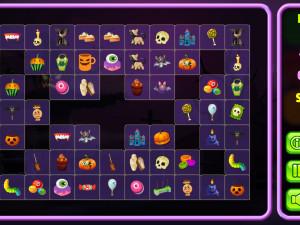 Онлайн игра Хэллоуин Коннект - 1 (Halloween Connect - 1) (изображение №9)