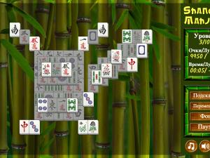 Онлайн игра Маджонг Шанхай (Mahjong Shanghai) (изображение №4)
