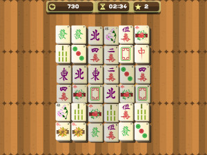 Онлайн игра Маджонг (Mahjong) (изображение №10)