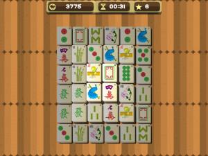 Онлайн игра Маджонг (Mahjong) (изображение №7)